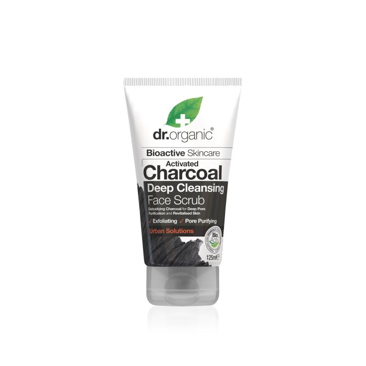 dr. organic carbón activado limpiador facial 125ml