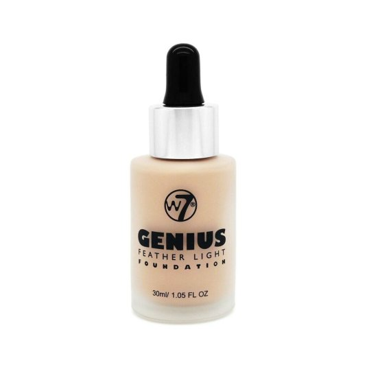 W7 GENIUS FOUNDATION BASE DE MAQUILLAJE LÍQUIDA