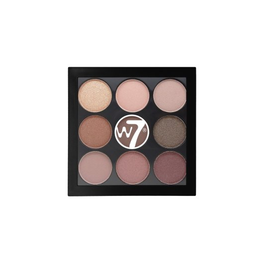 W7 NAUGHTY NINE MID SUMMER NIGHTS PALETA DE SOMBRA DE OJOS