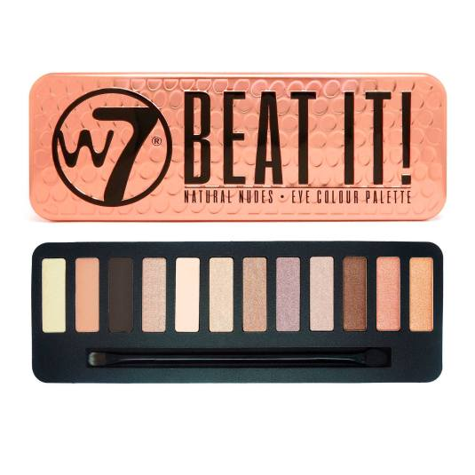 W7 BEAT IT PALETA DE SOMBRA DE OJOS