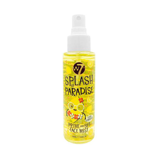 w7 splash of paradise prebase & fijador bruma facial