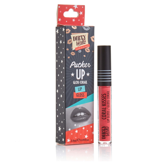 DIRTY WORKS CORAL KISS BRILLO DE LABIOS