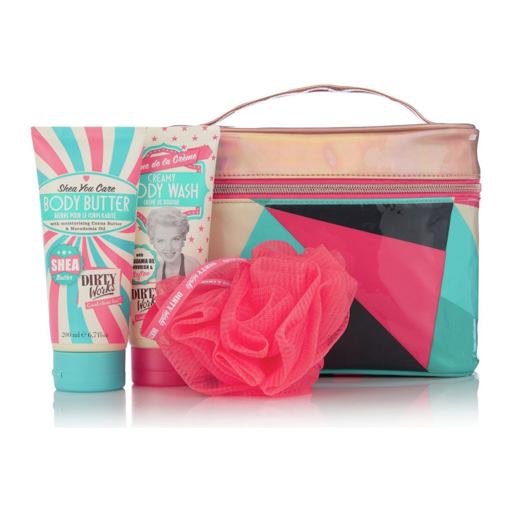 DIRTY WORKS PAMPER BAG AWAY SET DE BAÑO EN NECESER