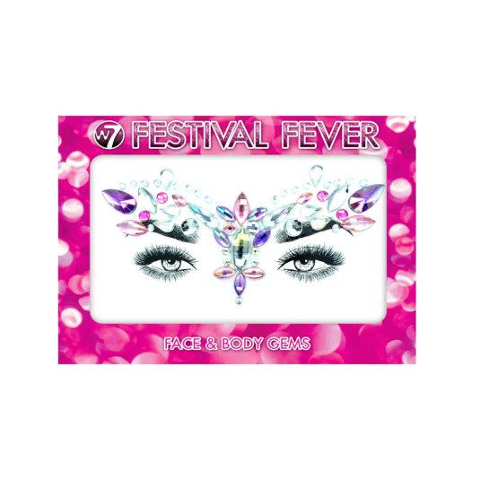 w7 glam goddess festival fever adhesivos para rostro y cuerpo