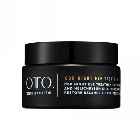 oto cbd eye cream - night treatment 15ml