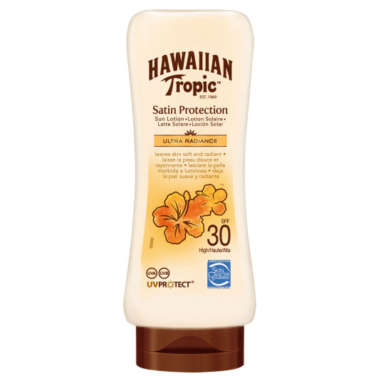 hawaiian tropic locion spf30 180ml