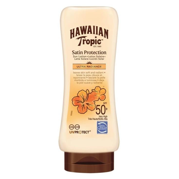 hawaiian tropic locion spf50 180ml