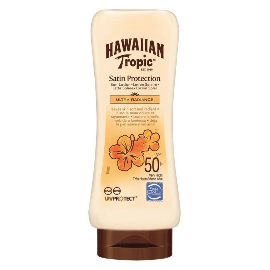 hawaiian tropic locion spf50 180ml