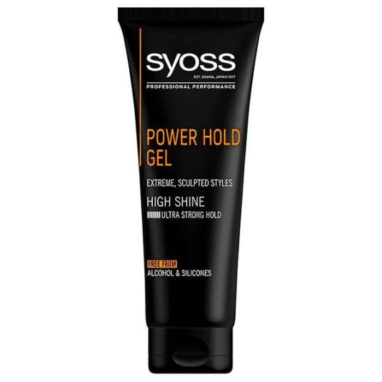 syoss gel power hold 250ml