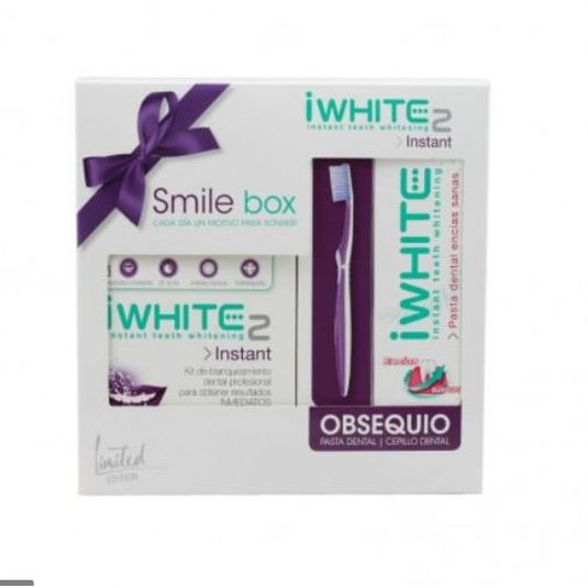 iwhite smile box blanqueador instant2 set 3 productos