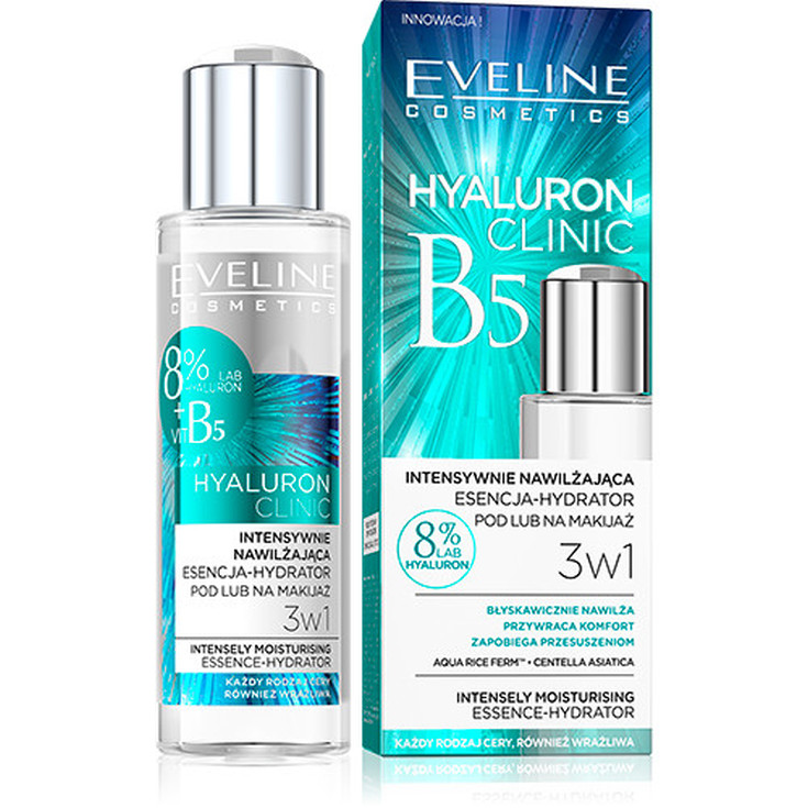 eveline cosmetics hyaluron clinic b5 serum facial hidratante 110ml