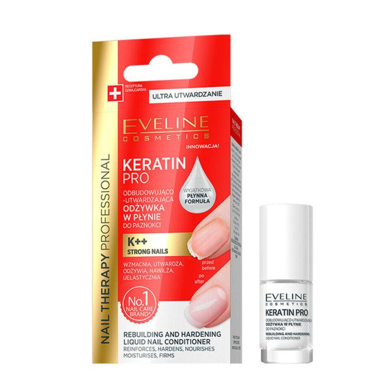 eveline cosmetics nail therapy professional tratamiento de uñas reafirmante 5ml