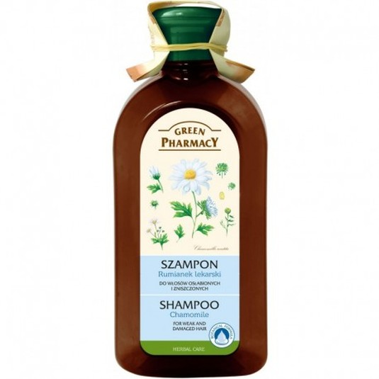 green pharmacy champu camomila 350ml