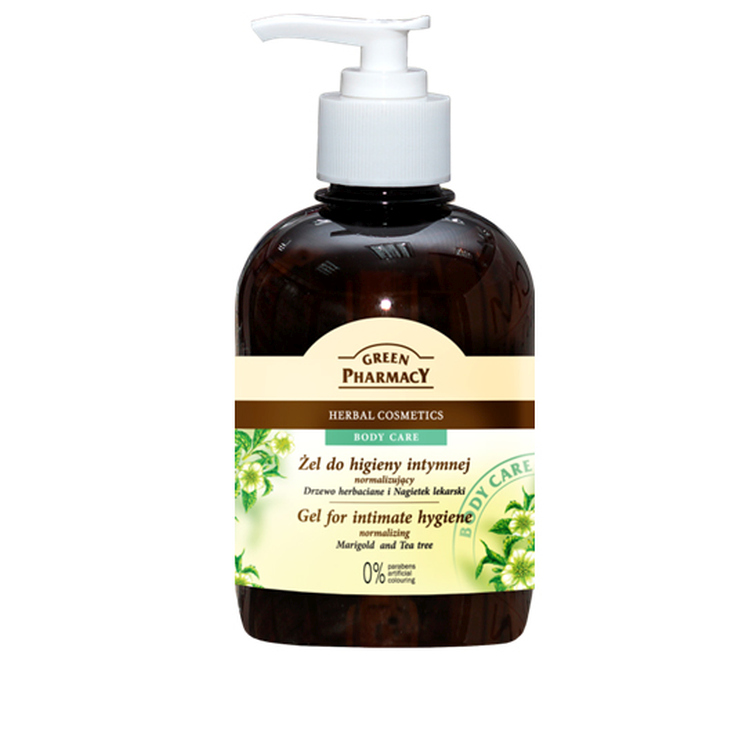green pharmacy gel intimo te y calendula 370ml