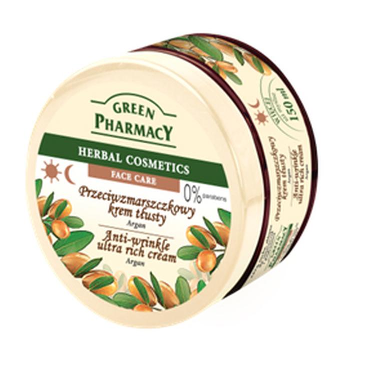 green pharmacy crema facial argán 150ml