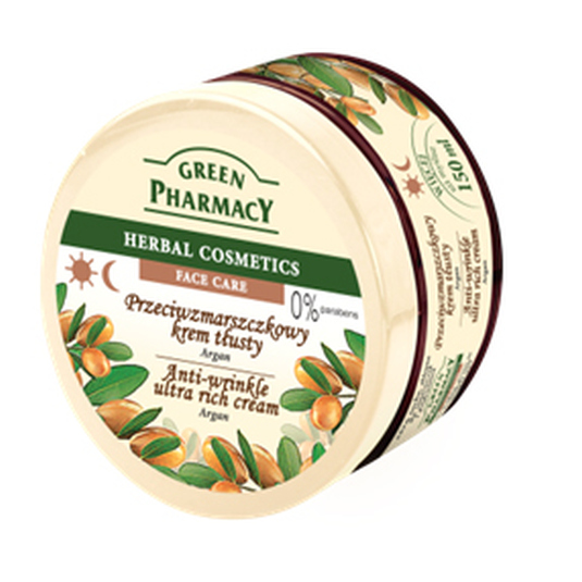 GREEN PHARMACY CREMA FACIAL ARGÁN 150ML
