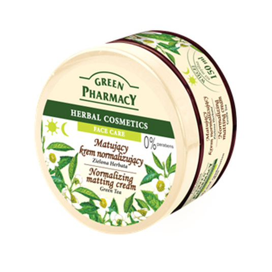 green pharmacy crema facial te verde 150ml