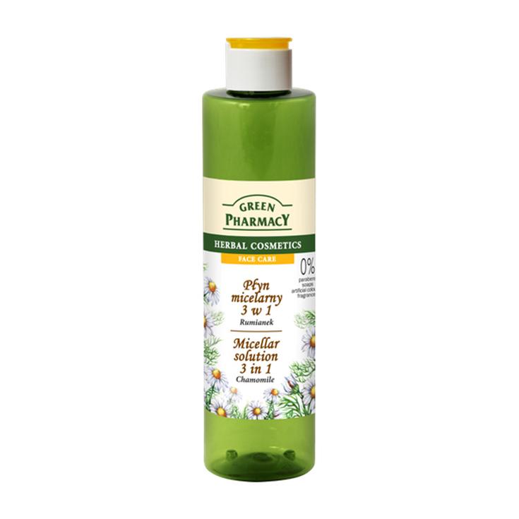 green pharmacy agua micelar de camomila 250ml