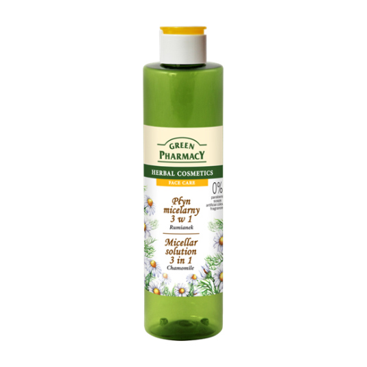 green pharmacy agua micelar de camomila 250ml
