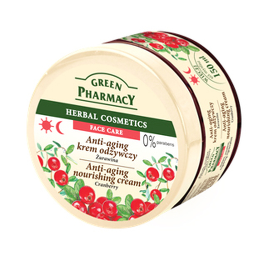 GREEN PHARMACY CREMA FACIAL ARÁNDANO 150ML