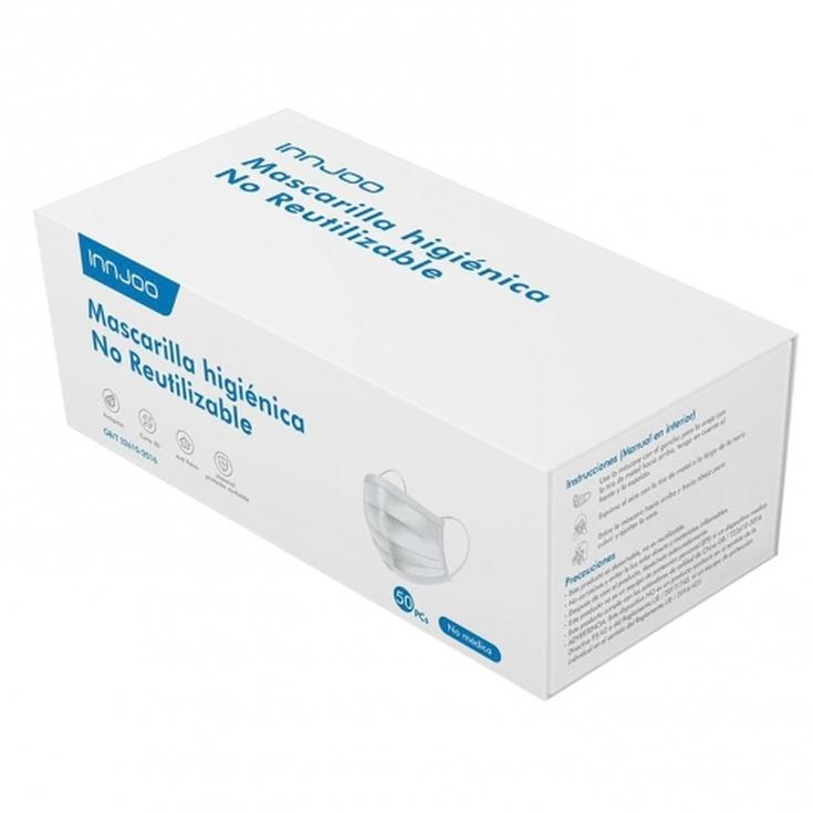 mascarilla higienica desechable caja 50 unidades