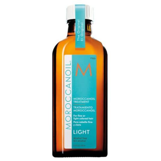 moroccanoil light tratamiento capilar para cabello fino y coloracion clara