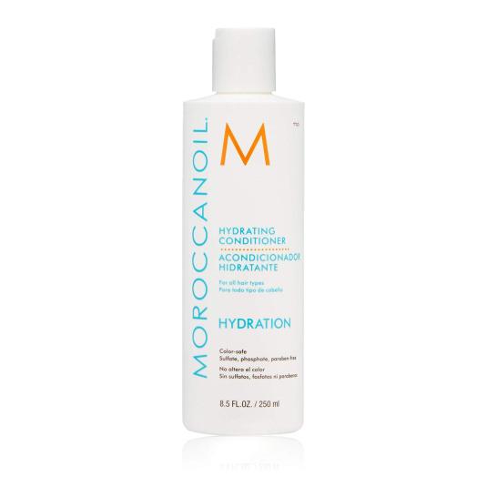 moroccanoil acondicionador hidratante para todo tipo de cabello 250ml