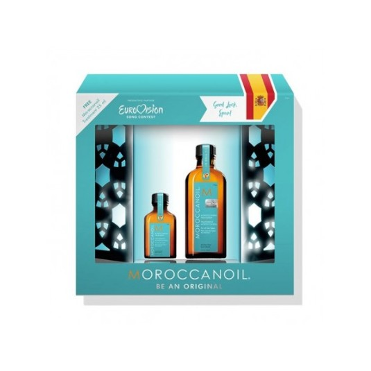 moroccanoil eurovision be an original oil set 2 piezas