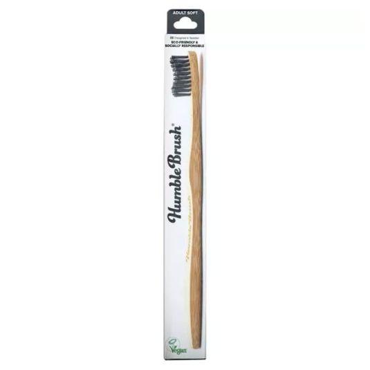 the humble cepillo dientes bambu negro