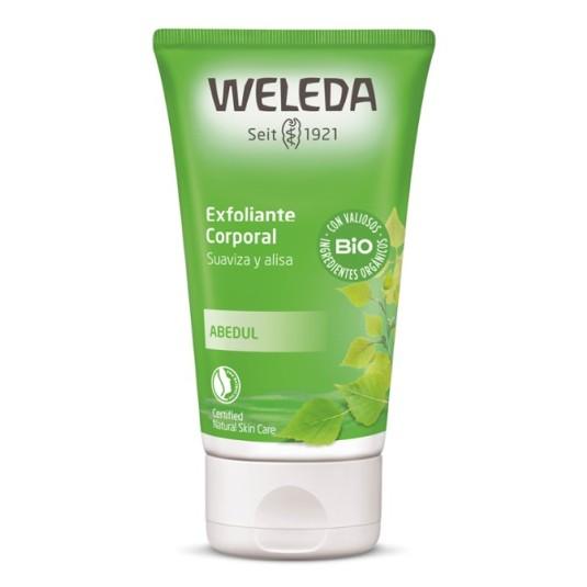 weleda exfoliante corporal abedul 150ml