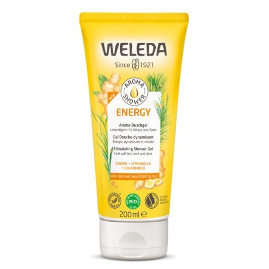 weleda aroma shower energy gel de ducha 200ml