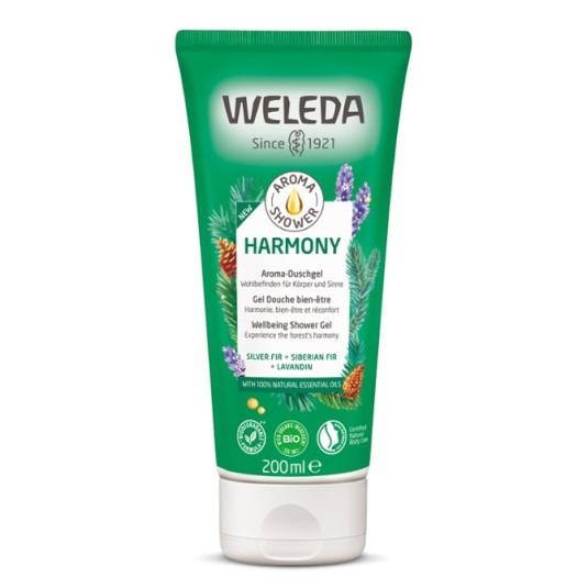 weleda aroma shower harmony gel de ducha 200ml