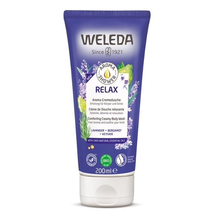 weleda aroma shower relax gel de ducha 200ml