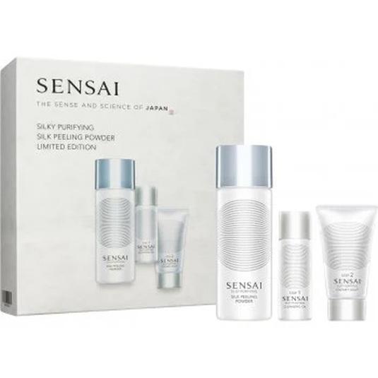 sensai silky purifying setlimpieza facial 3 piezas