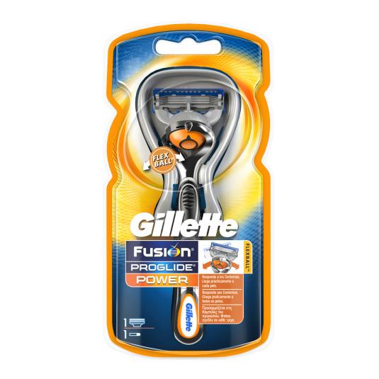 gillette fusion proglide power flexball maquinilla de afeitar