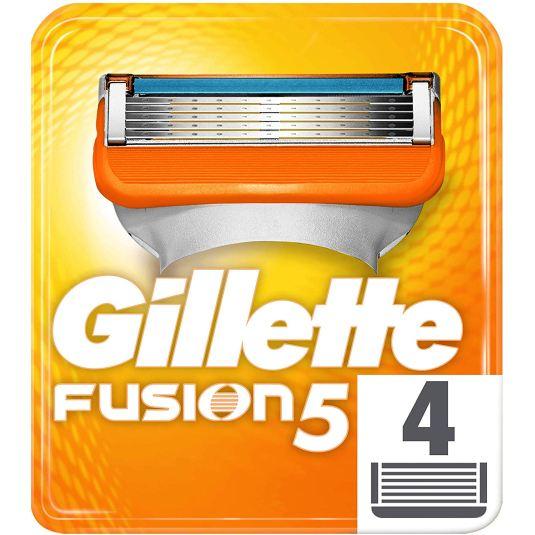 gillette fusion5 maquinilla chuchillas afeitar 4 recambios