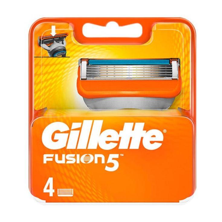 gillette fusion5 maquinilla cuchillas afeitar 4 recambios