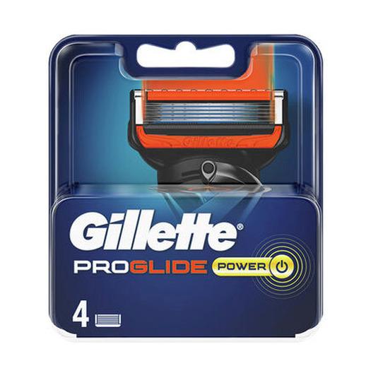 gillette proglide power cuchillas de afeitar recambio 4 unidades