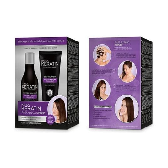 kativa keratin post alisado xpress kit2 piezas