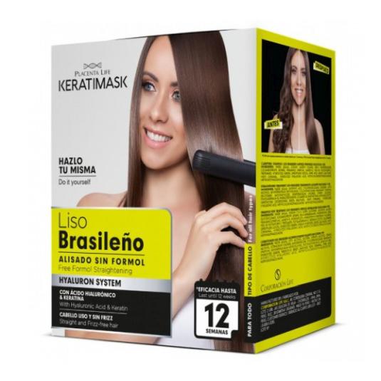 be natural kit alisado brasileño sin formol