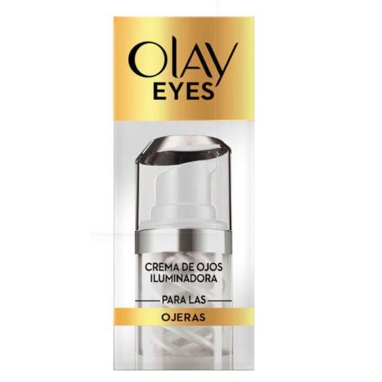 olay eyes crema iluminadora contorno de ojos 15ml
