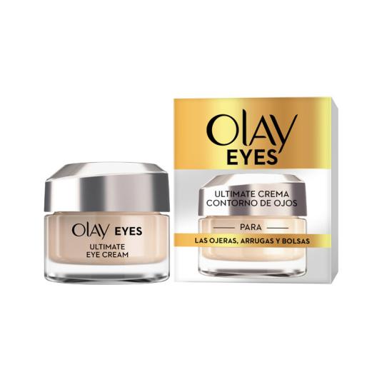 olay ultimate crema anti-edad contorno de ojos 15ml