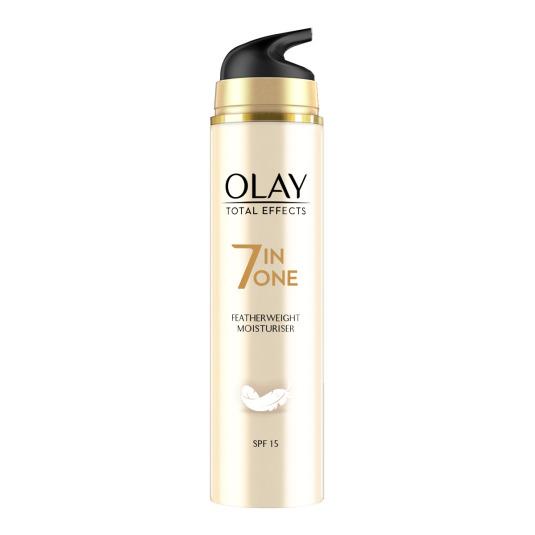 olay total effects 7en1 crema textura ligera hidratante spf15 50ml