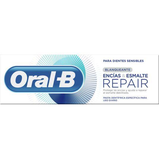 oral b encias y esmalte repair blanqueante 75ml