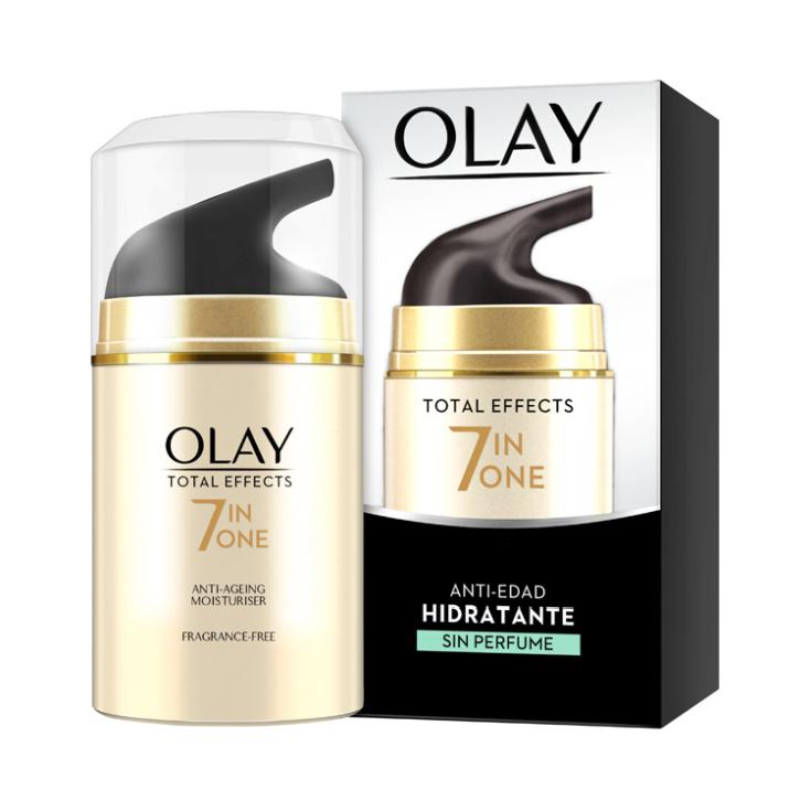 olay total effects 7en1 crema día anti-edad hidratante sin perfume 50ml
