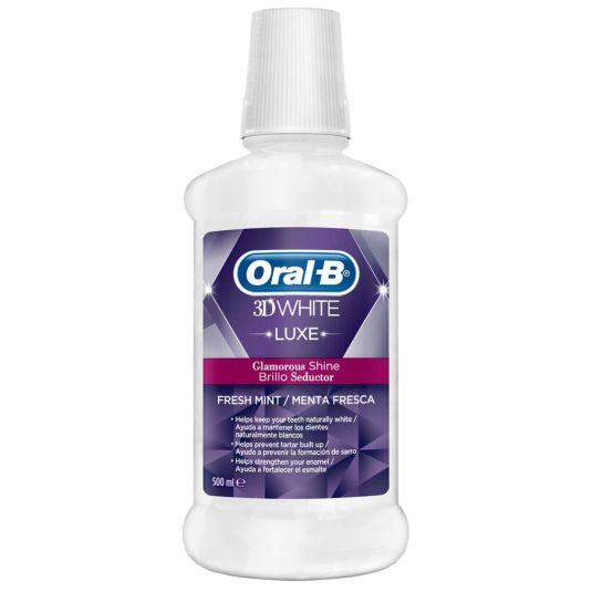oral b colutorio 3d white luxe 500ml