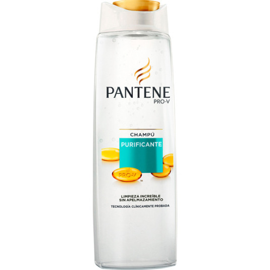 pantene pro-v champú purificante 360ml