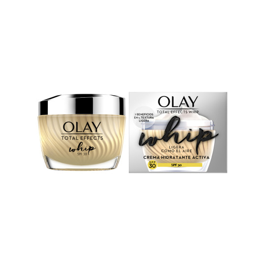 olay total effects whip crema hidratante spf30 50ml