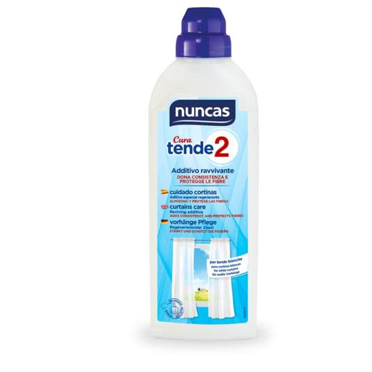 nuncas cura tende 2 tratamiento profesional lavado cortinas blancas 500ml