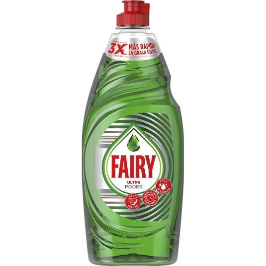 fairy ultra concentrado lavavajillas a mano